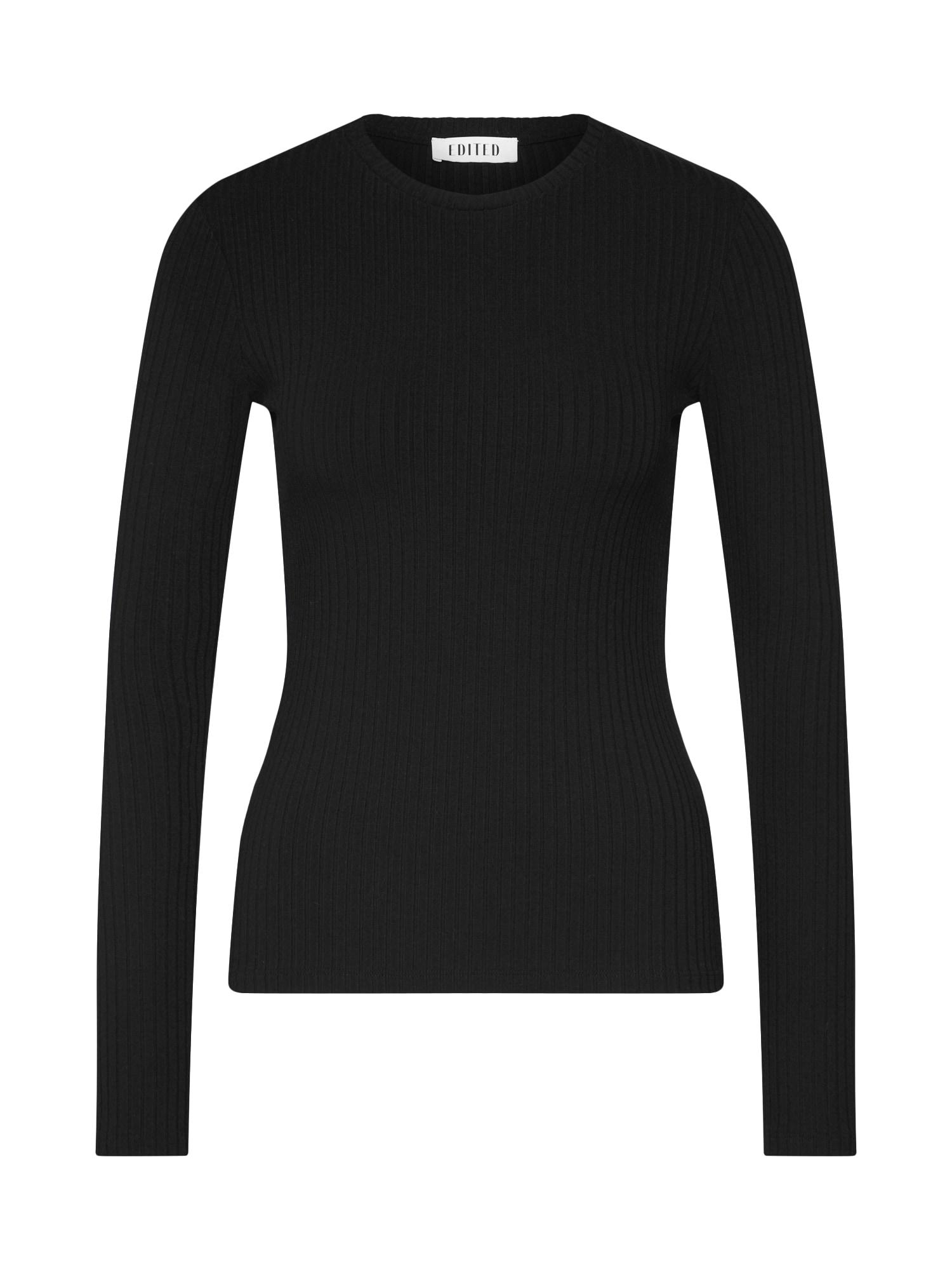 EDITED Marškinėliai 'Ginger' juoda