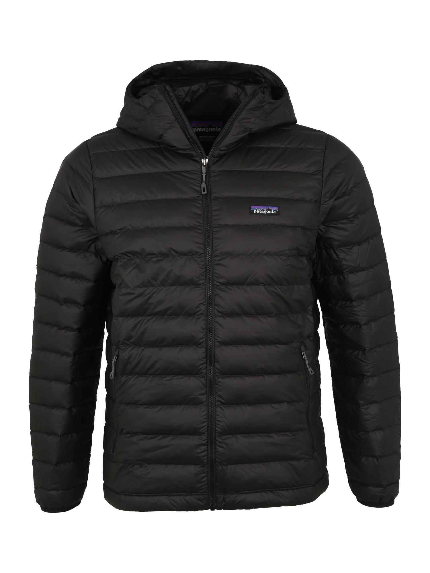 PATAGONIA Outdoorová bunda 'Down Sweater'  čierna