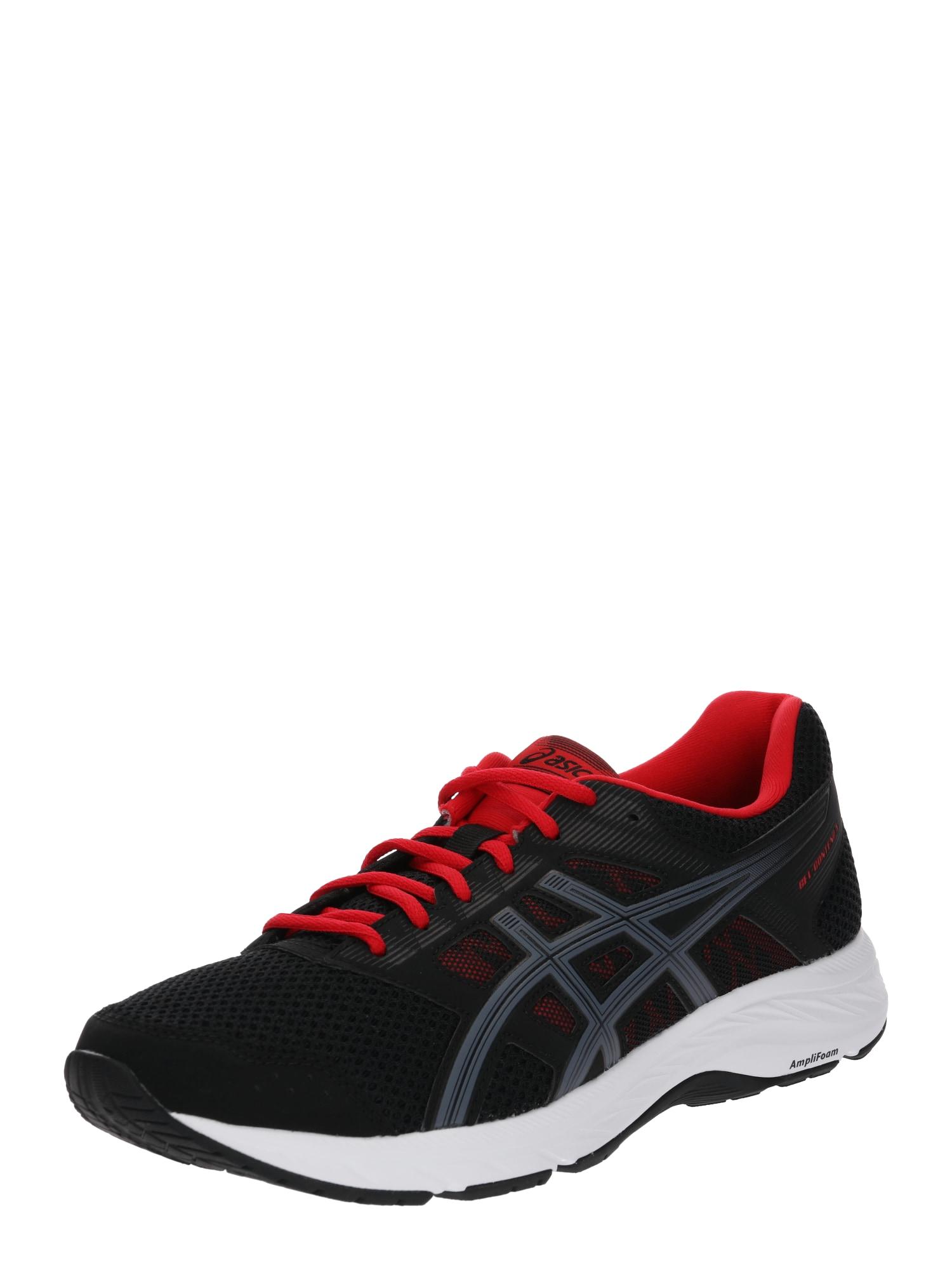 Běžecká obuv Gel-Contend 5 šedá červená černá ASICS