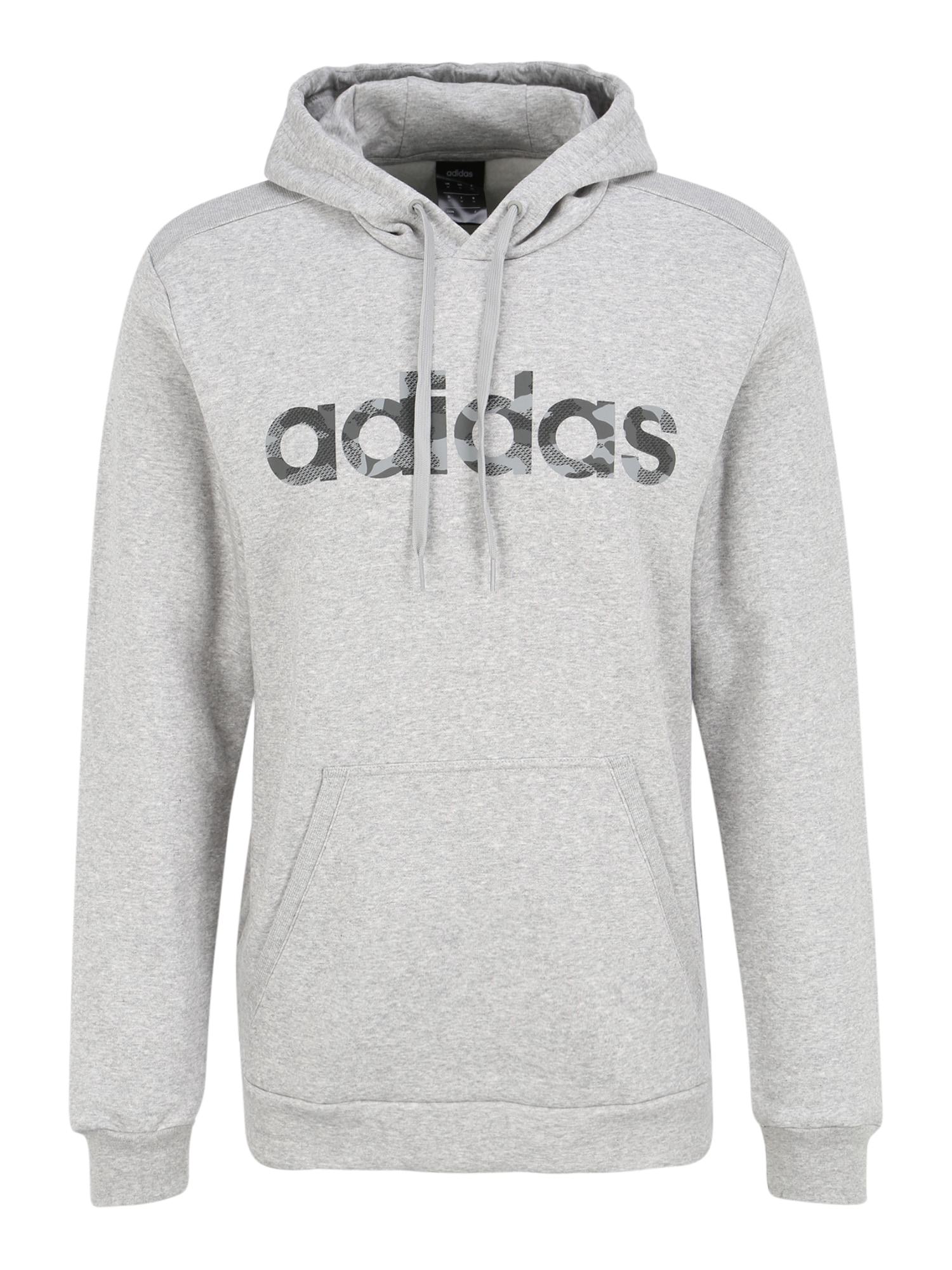 ADIDAS PERFORMANCE Sportinio tipo megztinis bazalto pilka / margai pilka