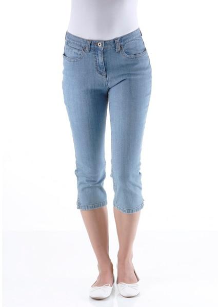 Hosen für Frauen - CHEER 3 4 Jeans blue denim  - Onlineshop ABOUT YOU