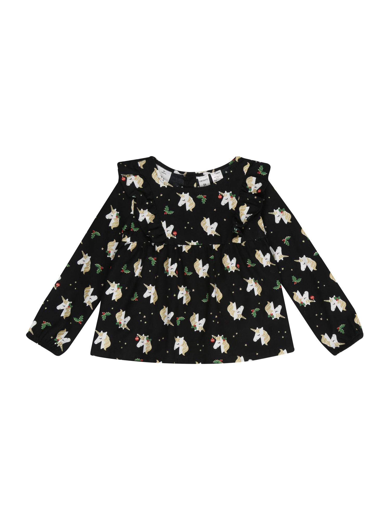 Carter's Marškinėliai juoda