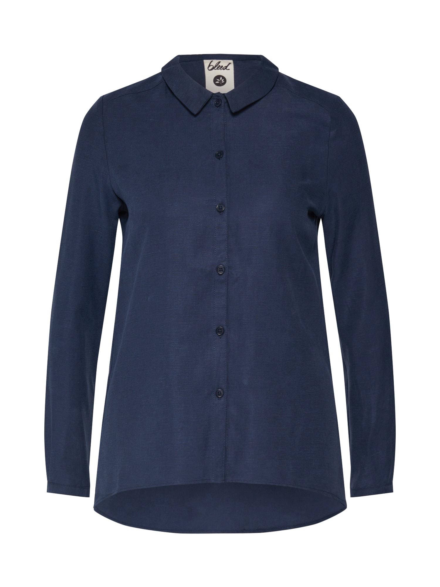 bleed clothing Palaidinė 'Blouse Ladies ' tamsiai mėlyna