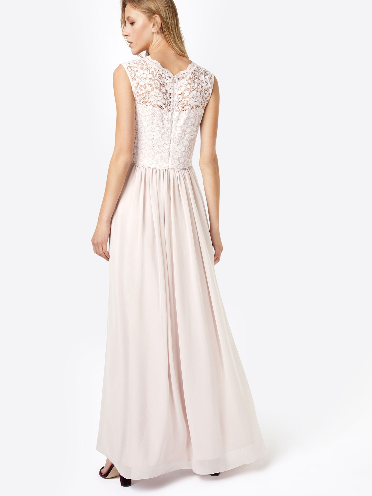 SWING Večerné šaty  ružová.