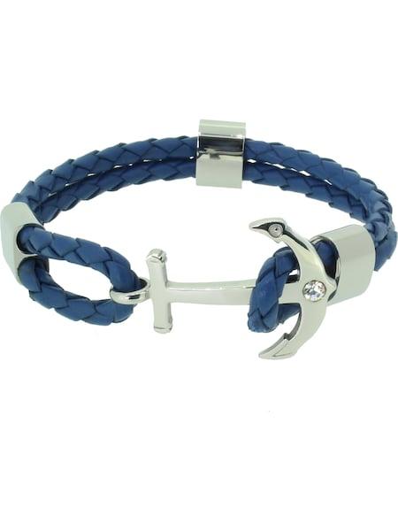 Armbaender - Armband 'Anker 110496' › Hafen Klunker › himmelblau silber  - Onlineshop ABOUT YOU