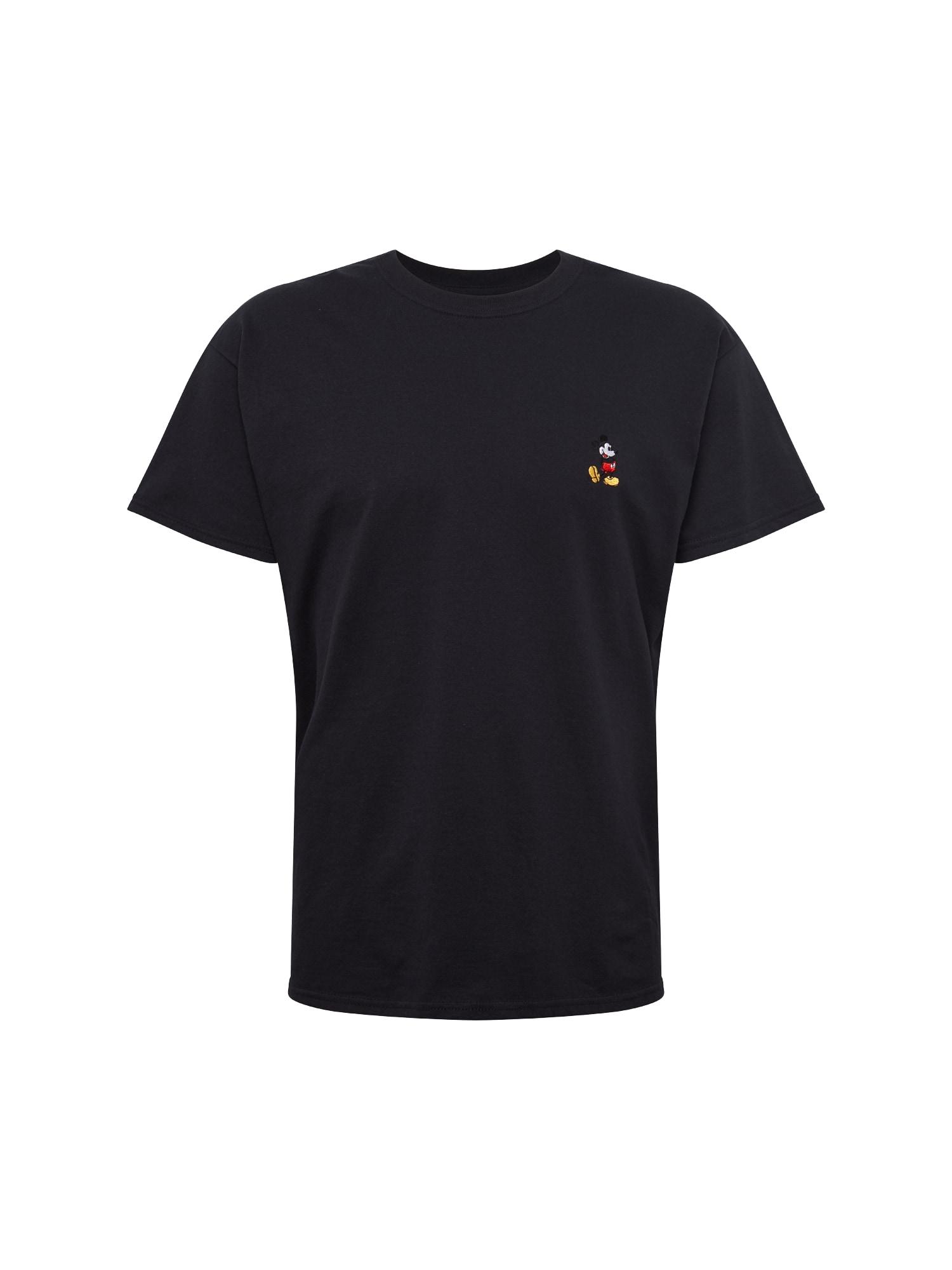 NEW LOOK Tričko 'RPFMA 02.11.18 G MICKEY EMB TEE'  čierna