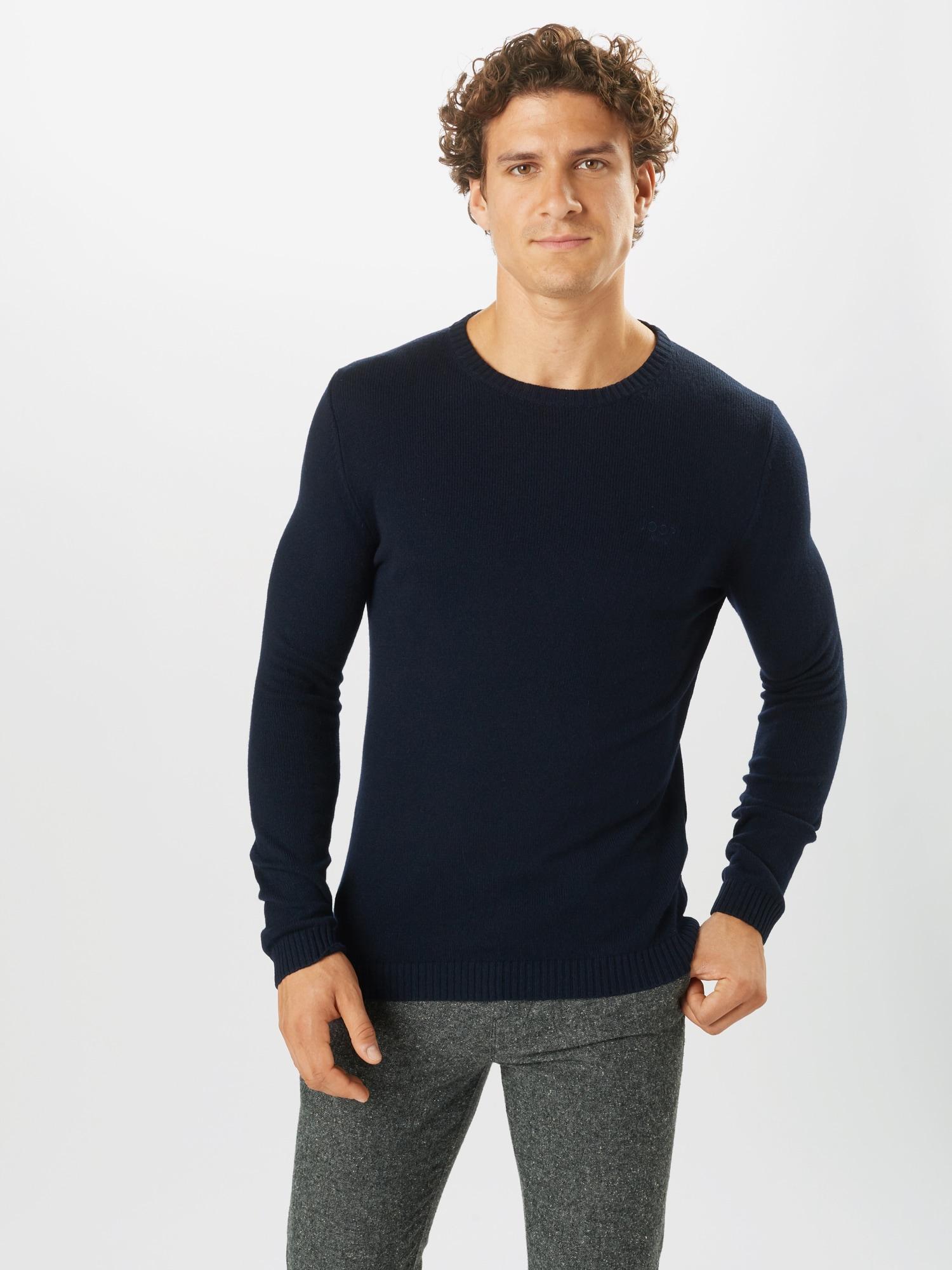 JOOP! Jeans Tröja 'Laurel'  mörkblå
