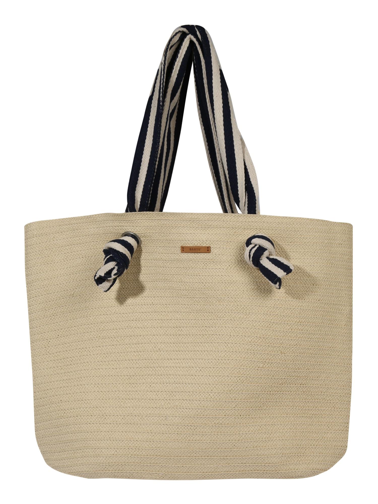 Barts Pirkinių krepšys 'Kiera' tamsiai mėlyna / smėlio