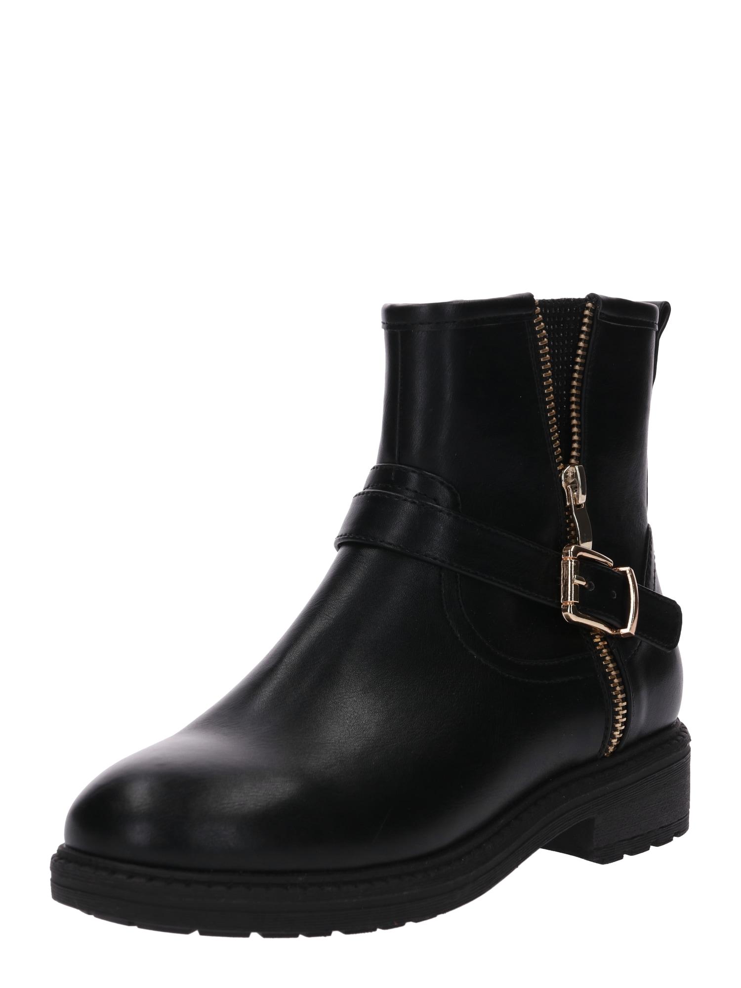 ABOUT YOU Auliniai batai 'Samia' juoda