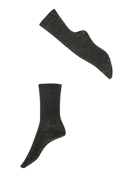 Socken - Socken 'Shiny Rib SO' › Falke › schwarz  - Onlineshop ABOUT YOU