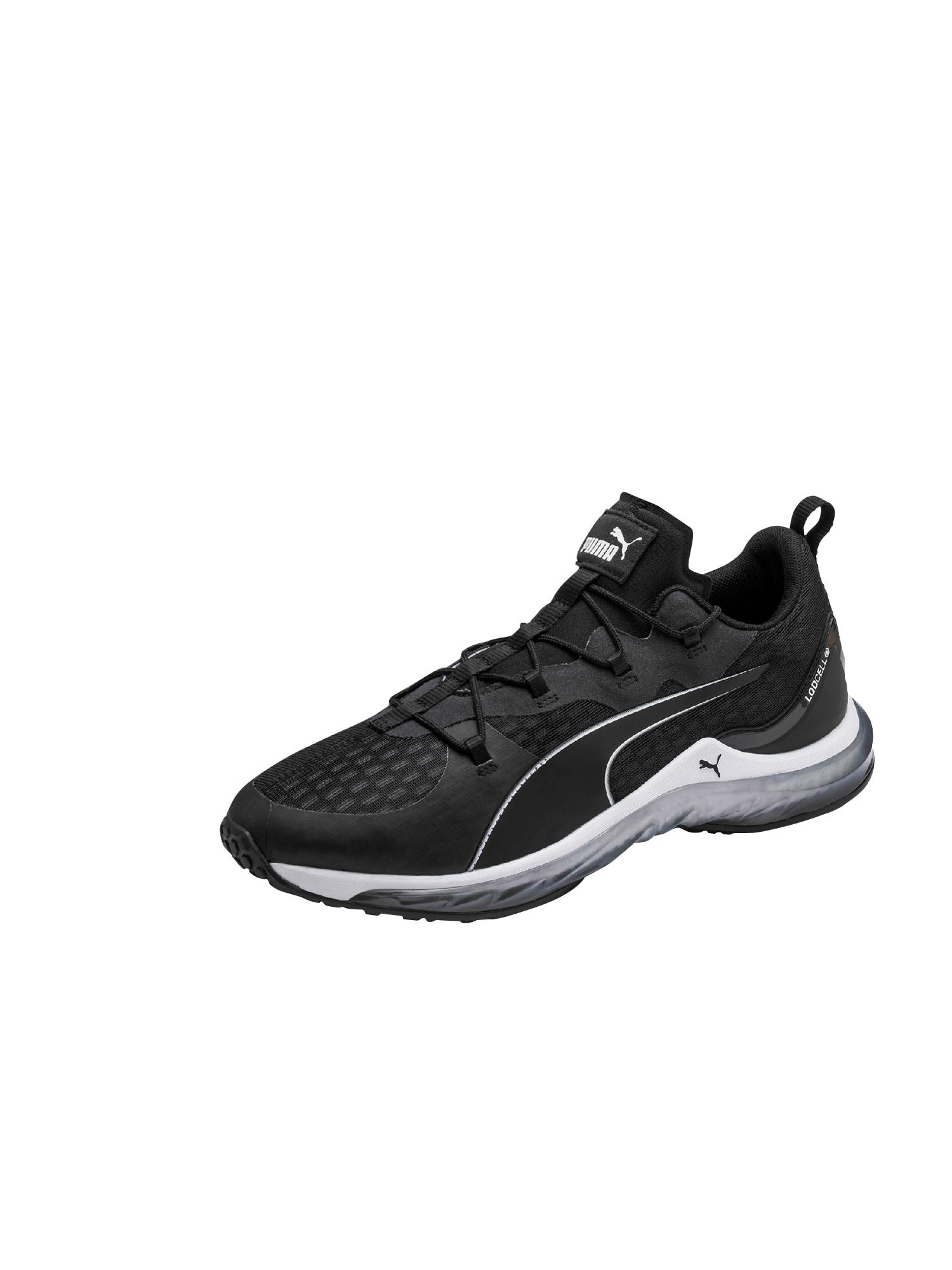 PUMA Bėgimo batai 'LQDCELL Hydra' juoda / balta
