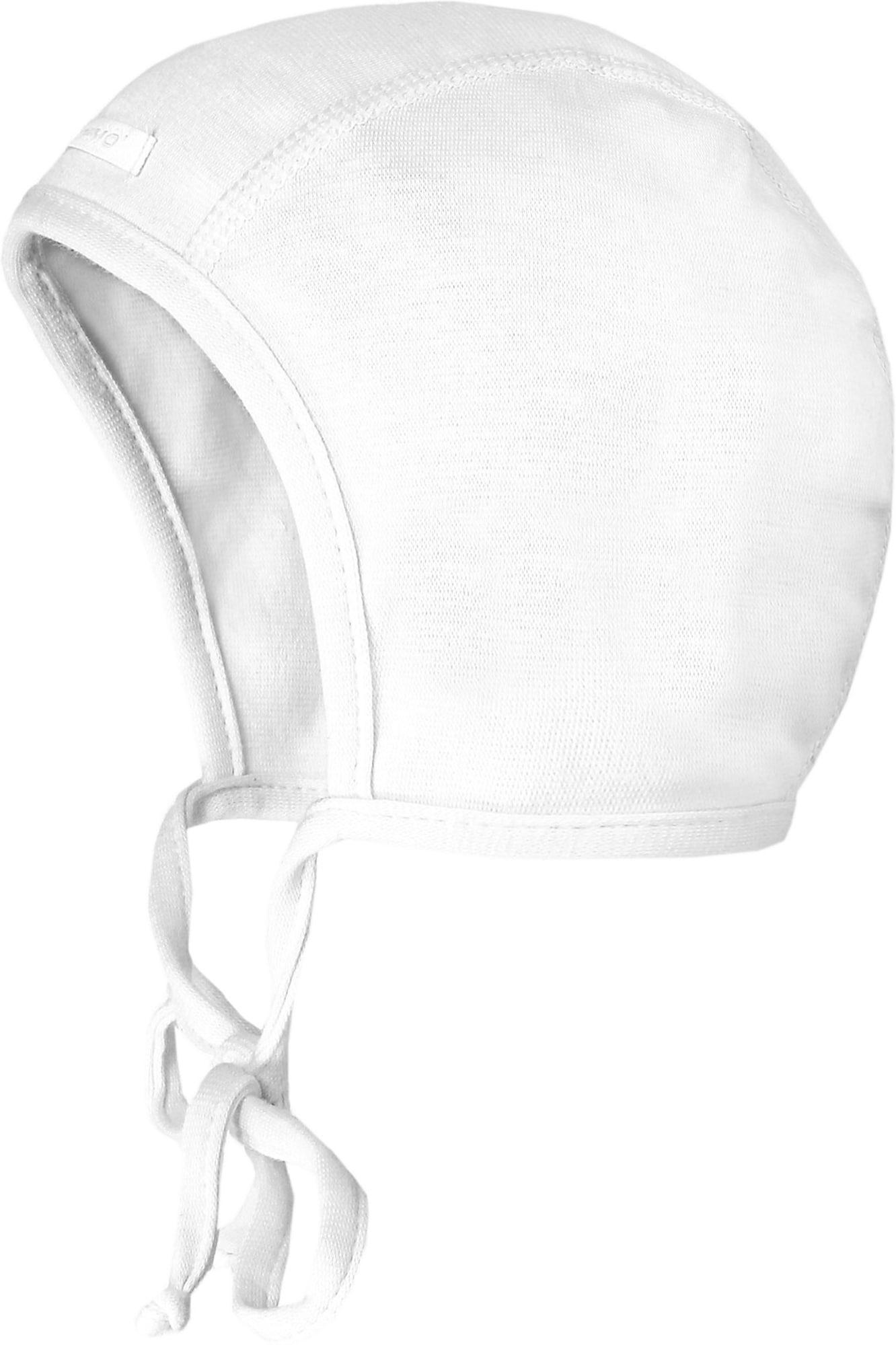 MAXIMO Megzta kepurė balta
