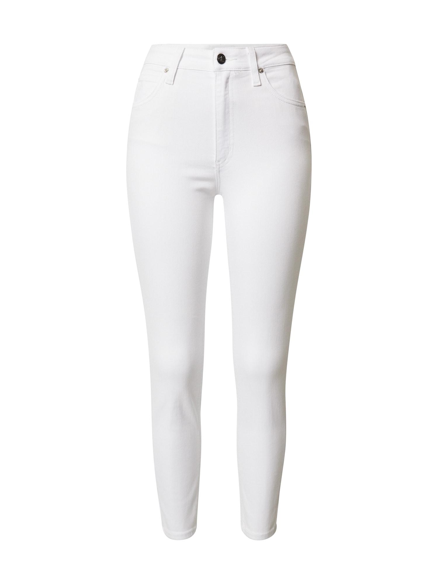 Calvin Klein Jeans Džinsai balto džinso spalva