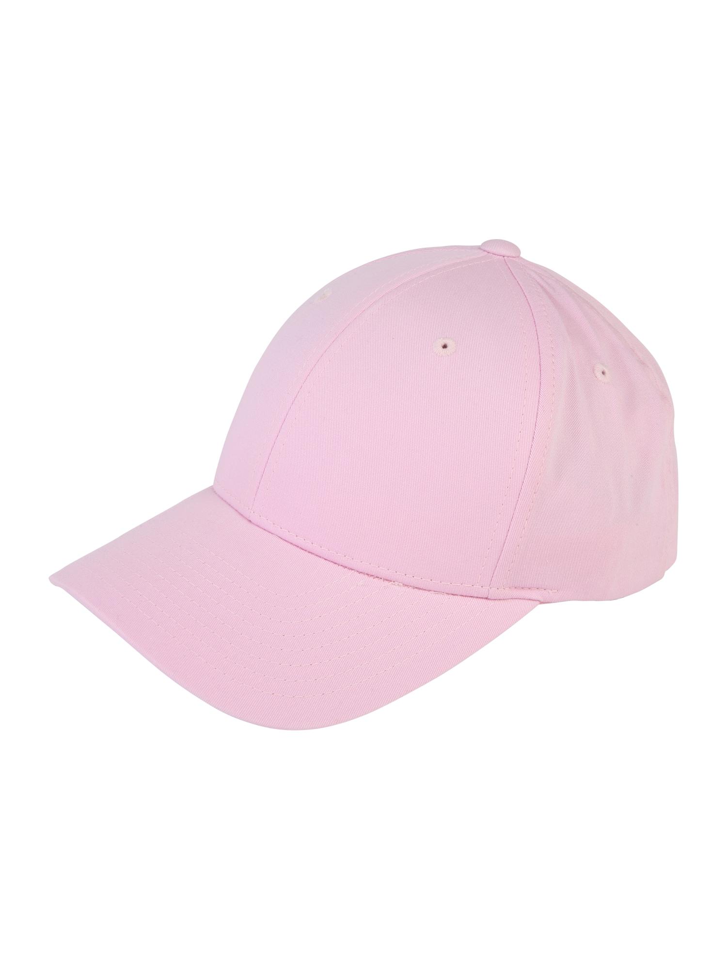 Kšiltovka Curved Classic Snapback světle růžová Flexfit