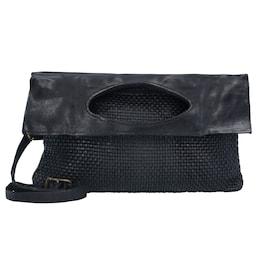 Damen Traditional Ninfea Handtasche Leder 27 cm schwarz | 08054302020244
