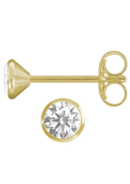 Ohrringe für Frauen - FIRETTI Ohrstecker gold silber  - Onlineshop ABOUT YOU