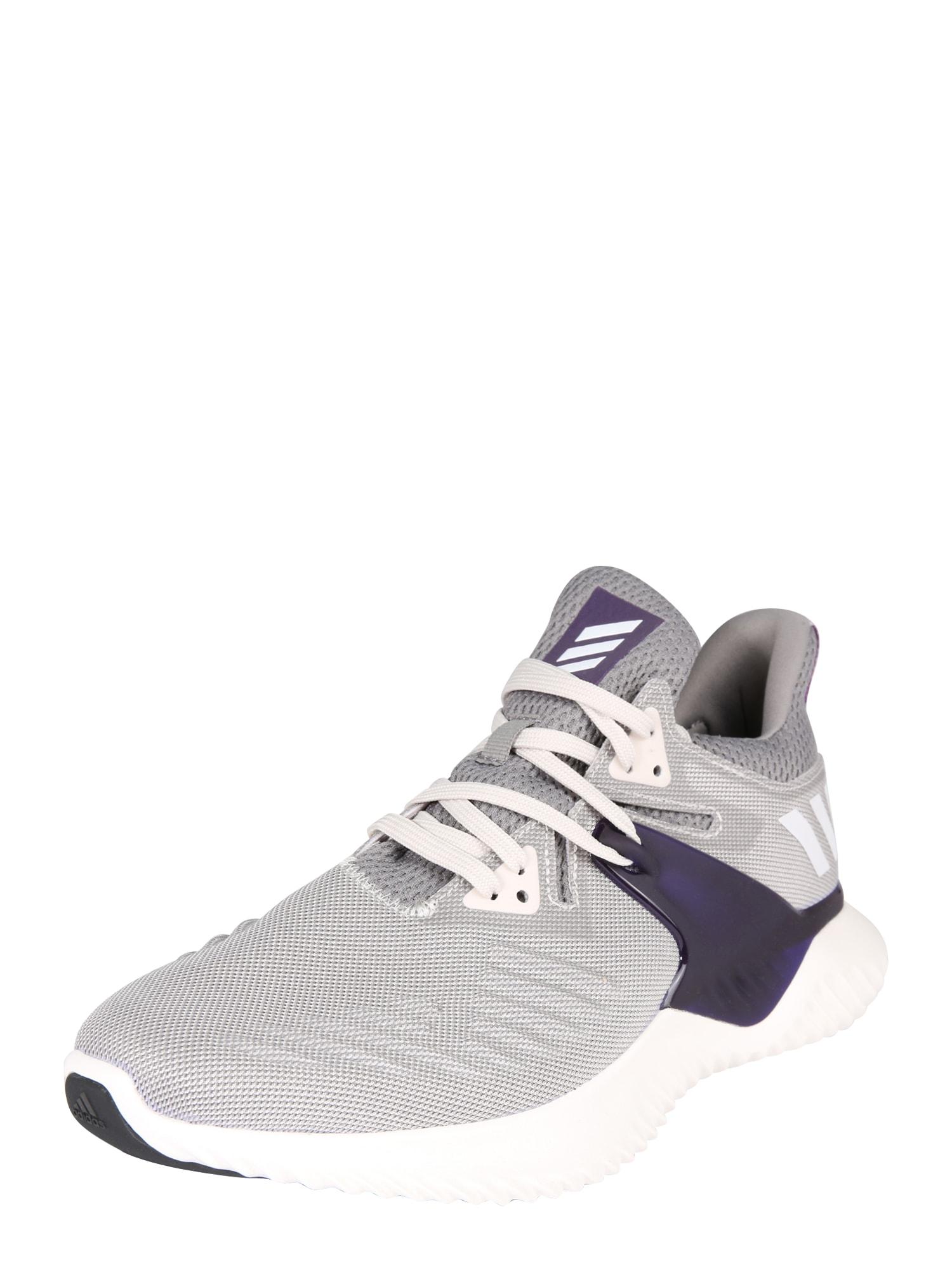 Sportovní boty alphabounce beyond šedá bílá ADIDAS PERFORMANCE