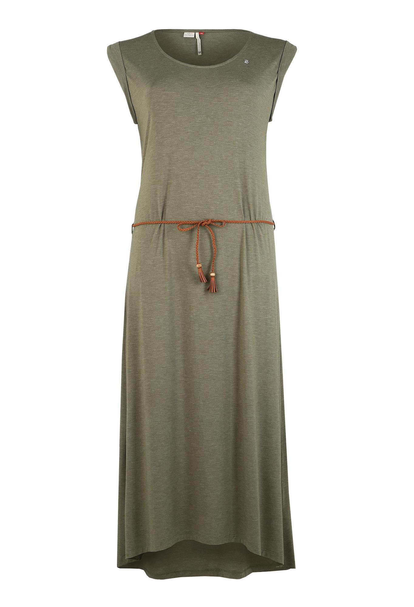 Ragwear Plus Suknelė alyvuogių spalva