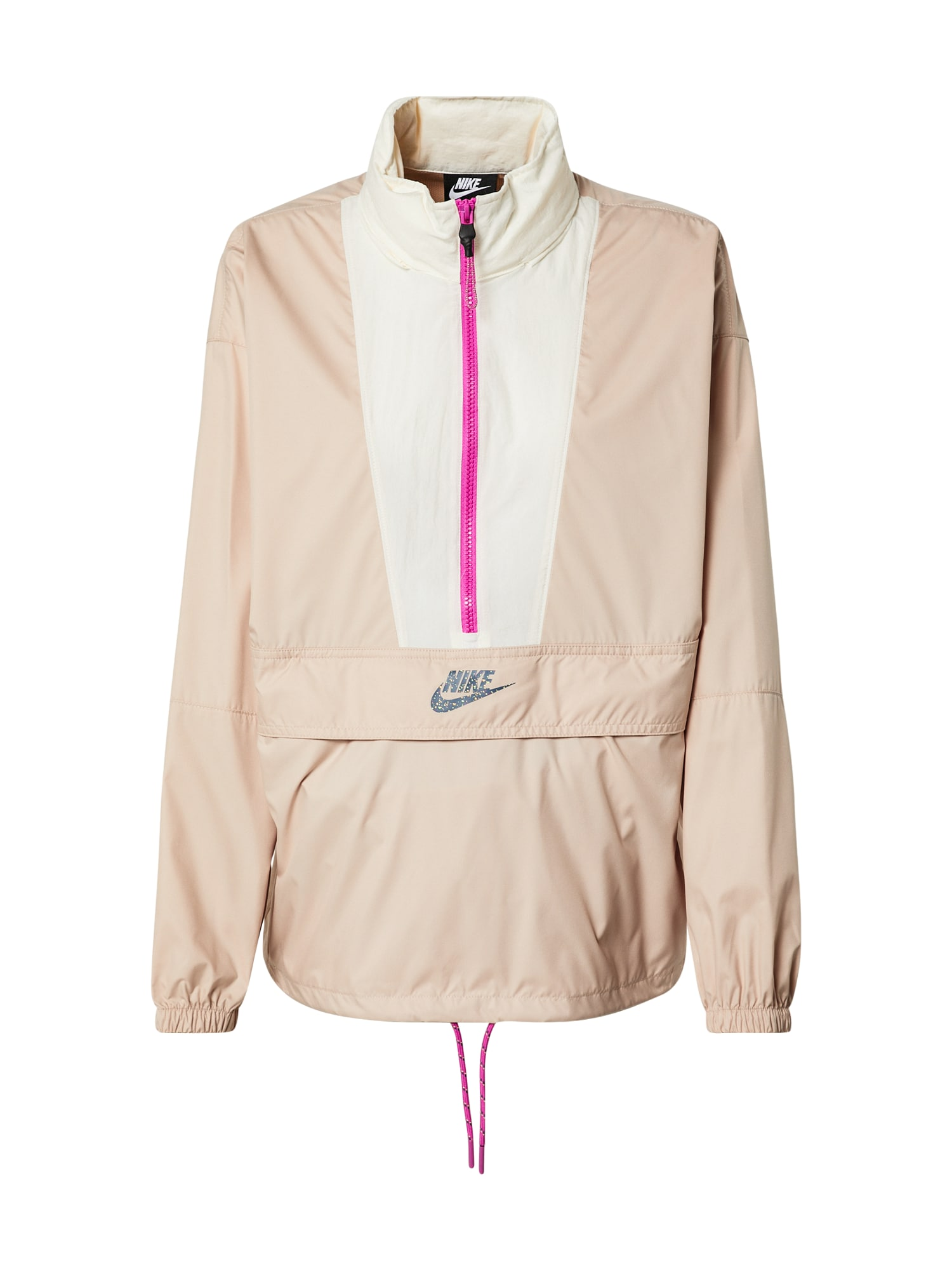 Nike Sportswear Demisezoninė striukė balta / rožių spalva