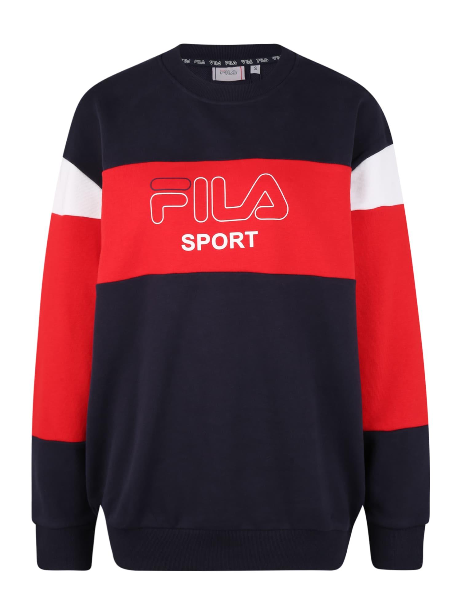 FILA Sportinio tipo megztinis 'LANA' raudona / juoda