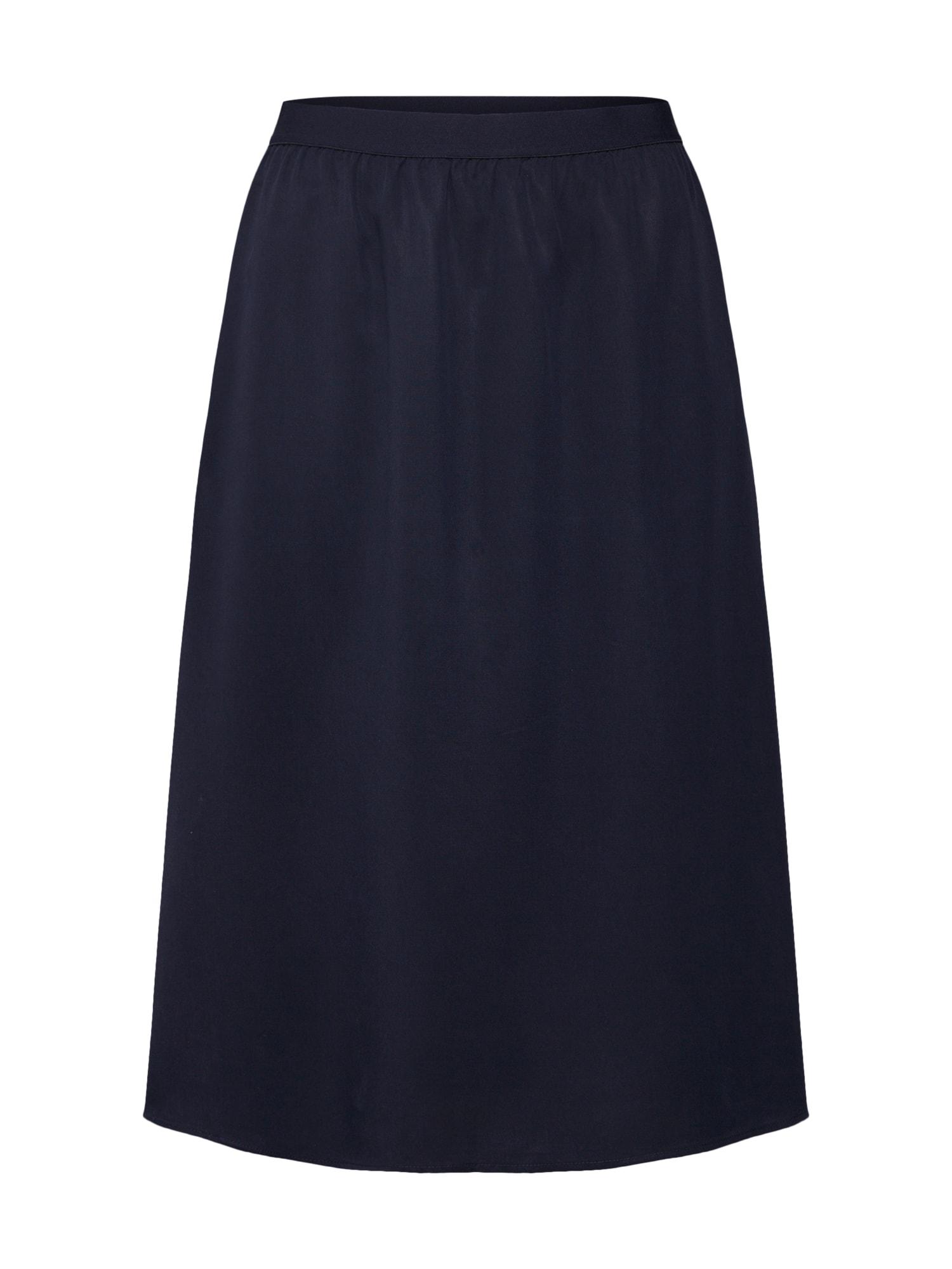 Sukně A-Line Skirt námořnická modř Re.draft