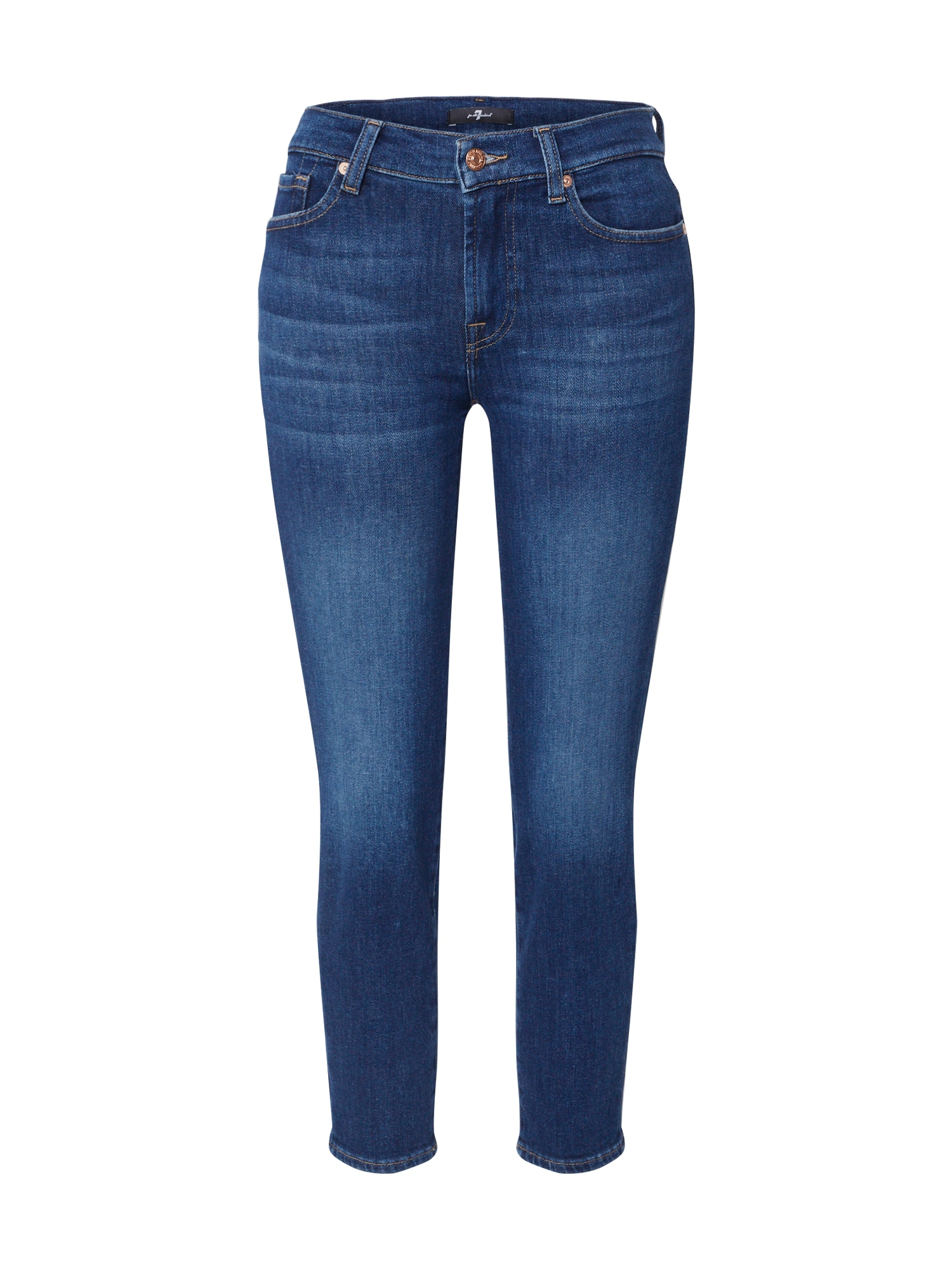 7 for all mankind Džinsai 'ROXANNE ANKLE' tamsiai (džinso) mėlyna
