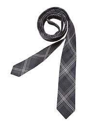 SEIDENSTICKER Herren Krawatte Slim grau | 04048869348587