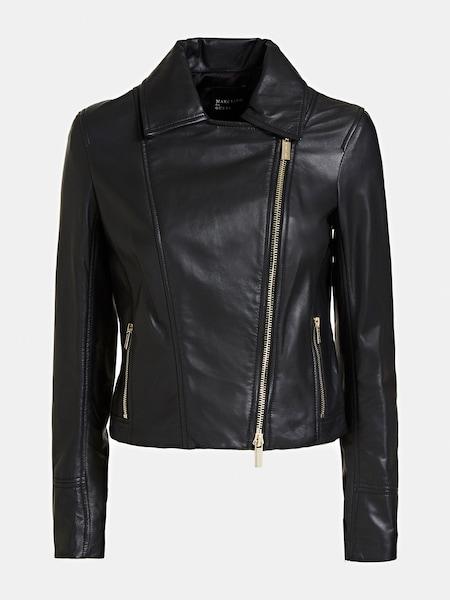 Jacken für Frauen - MARCIANO LOS ANGELES LEDERJACKE schwarz  - Onlineshop ABOUT YOU