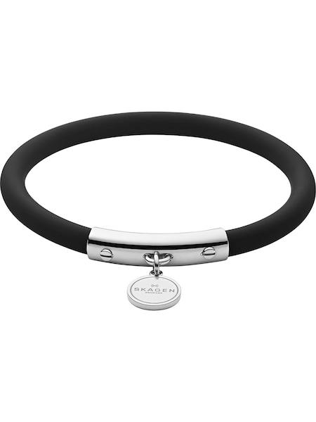 Armbaender - Armband 'Blakely, SKJ1285040' › skagen › schwarz silber  - Onlineshop ABOUT YOU
