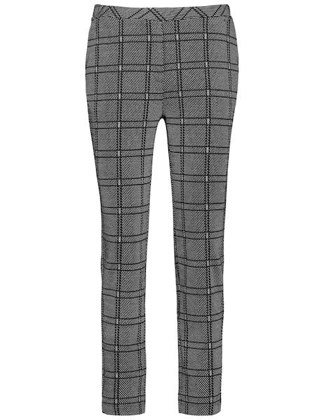 Hosen für Frauen - Hose › TAIFUN › graumeliert schwarz  - Onlineshop ABOUT YOU