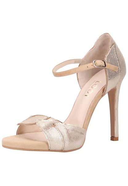 Sandalen für Frauen - Lodi Sandalen beige silber  - Onlineshop ABOUT YOU
