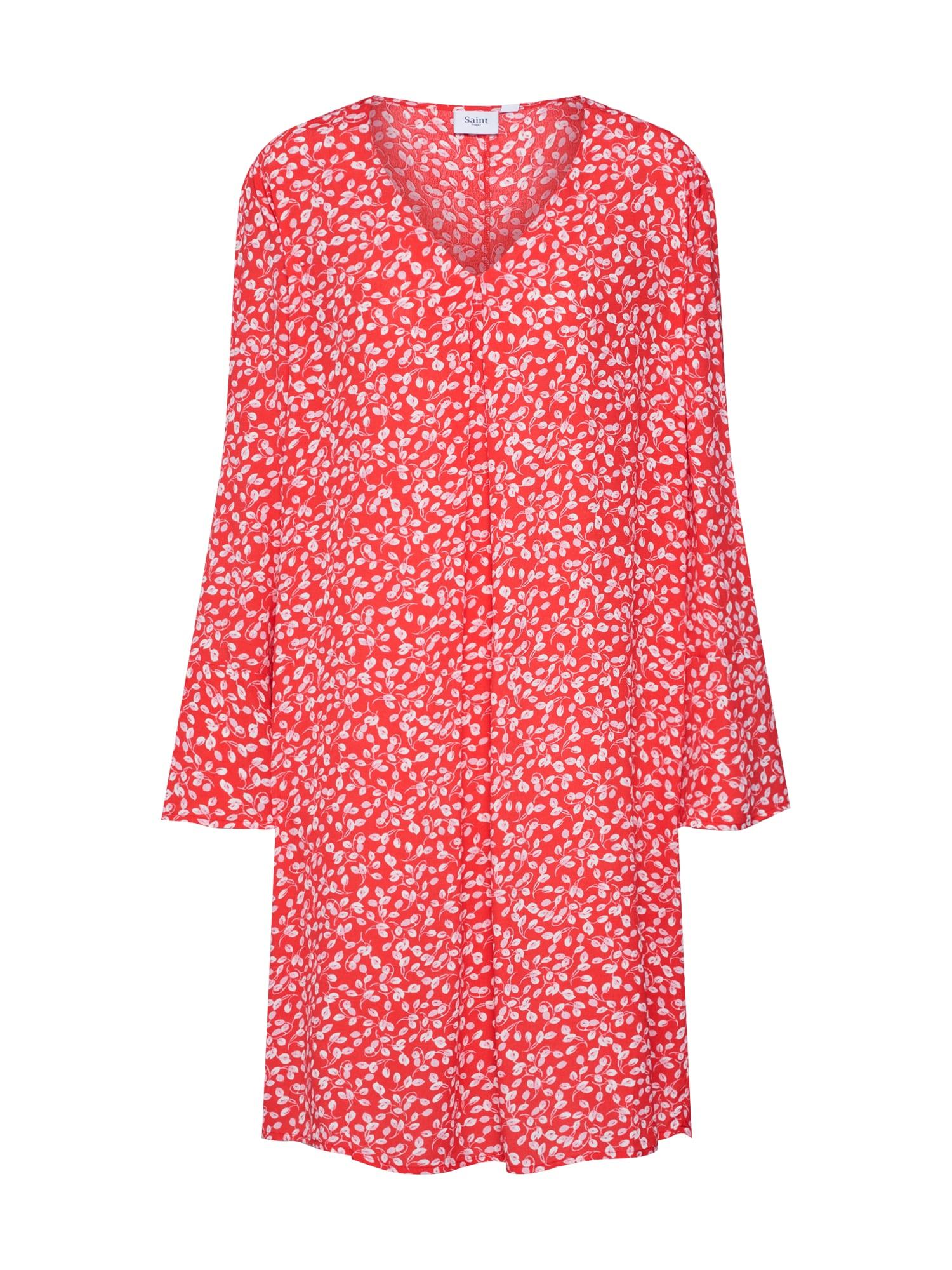 Šaty červená bílá SAINT TROPEZ