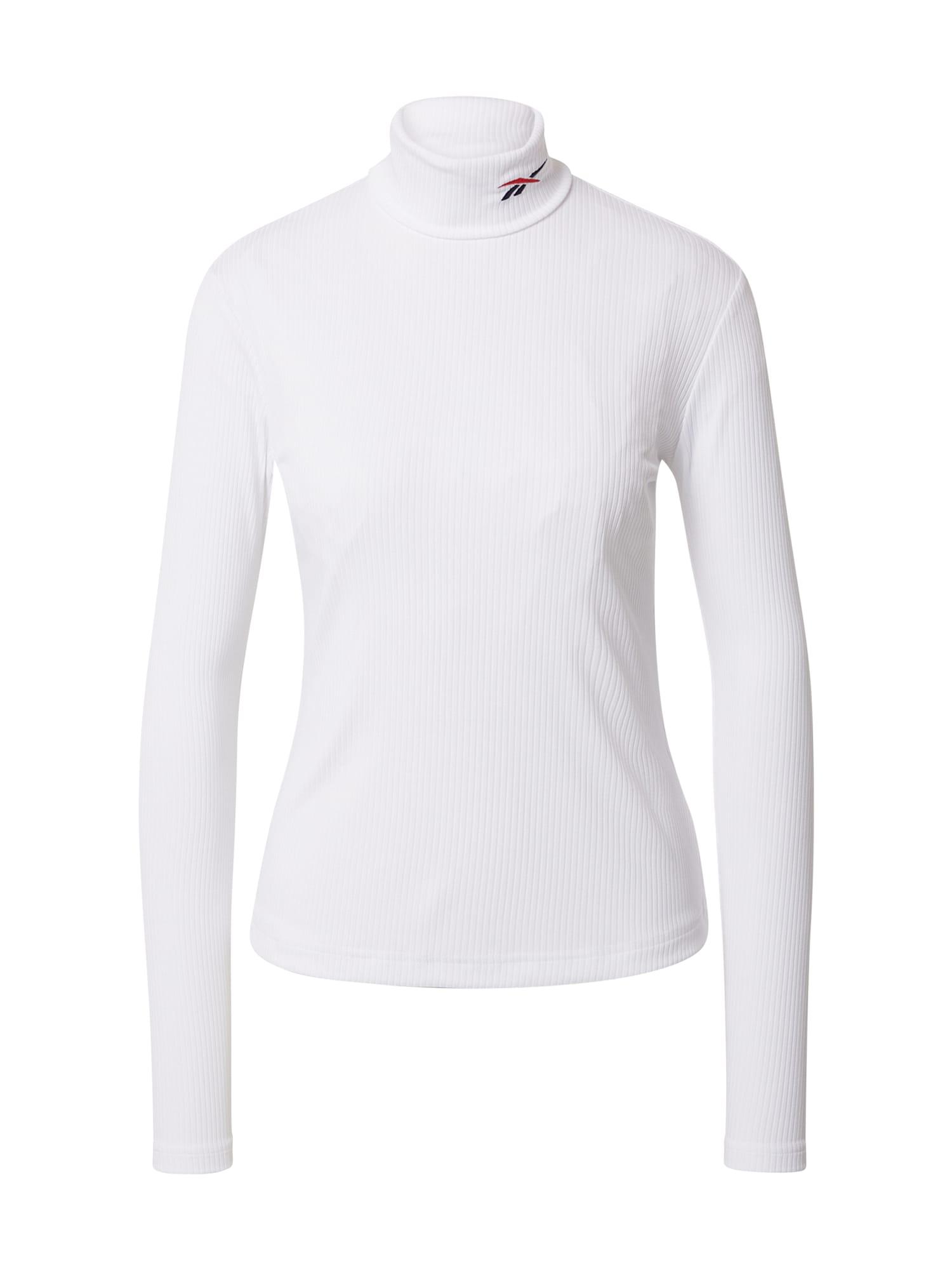 Reebok Classic Marškinėliai balta / tamsiai mėlyna / raudona