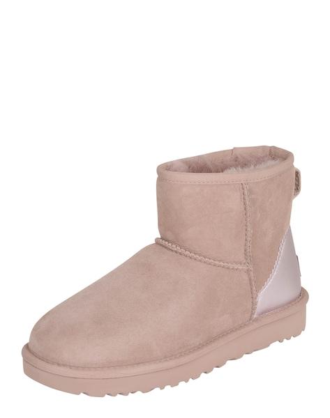 Stiefel für Frauen - UGG Snowboots 'Classic Mini' puder  - Onlineshop ABOUT YOU