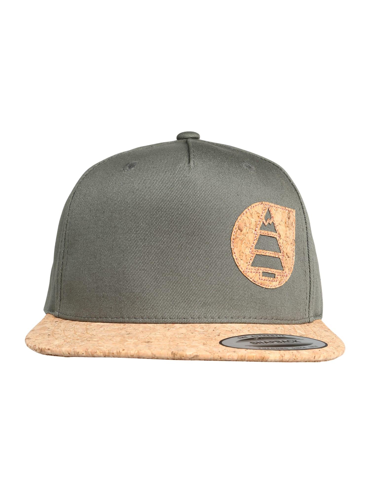 Picture Organic Clothing Sportinė kepurė 'NARROW CAP PK x3' ruda / rusvai žalia