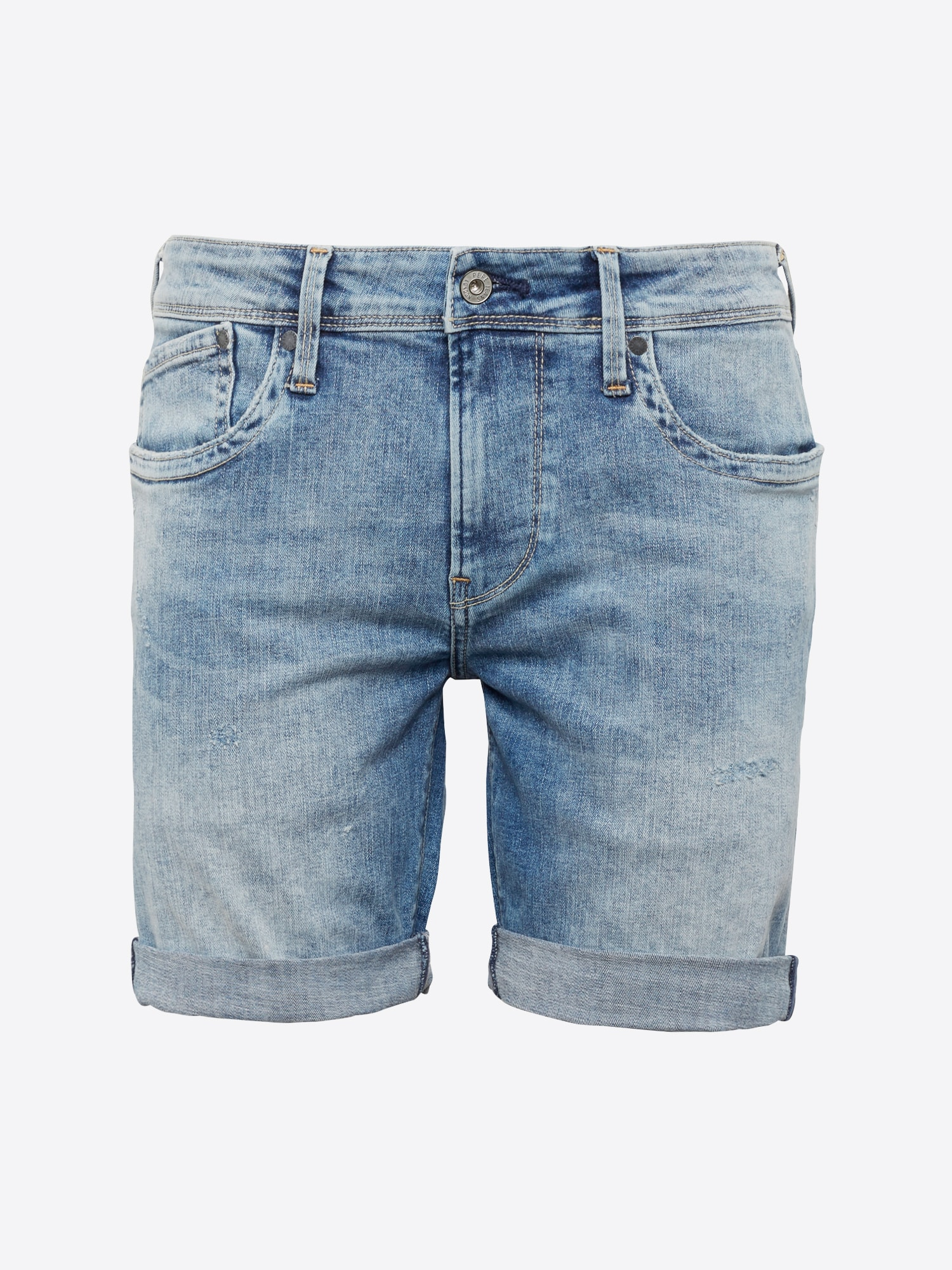 Pepe Jeans, Herren Jeans HATCH SHORT, blauw denim