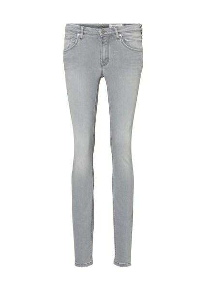 Hosen - Jeans ALVA mid slim › Marc O'Polo DENIM › grau  - Onlineshop ABOUT YOU