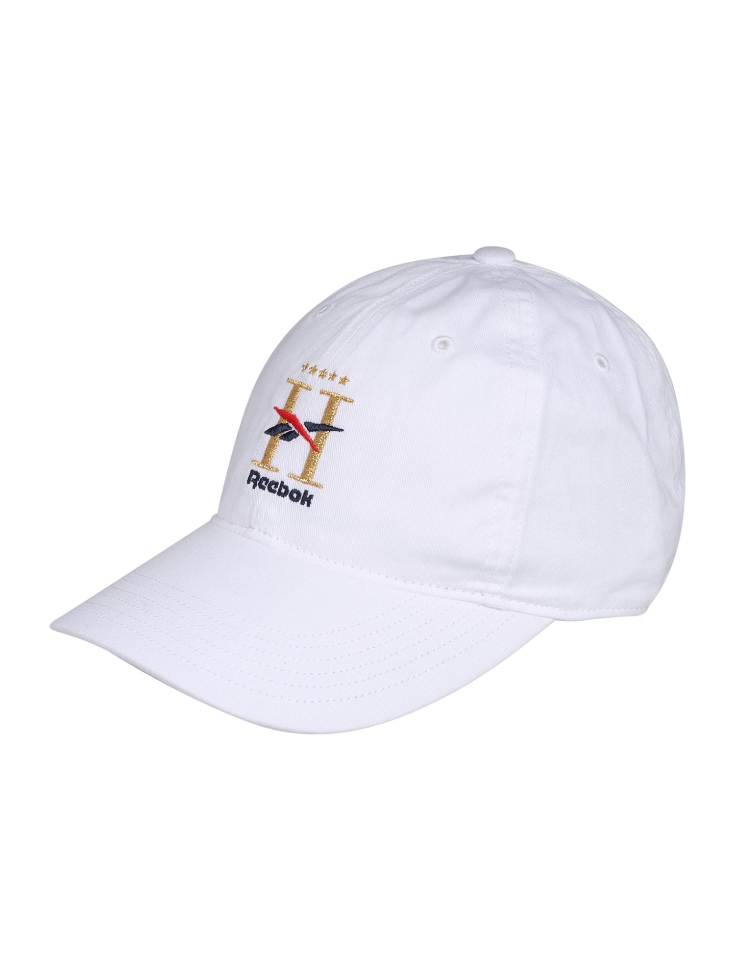 Reebok Classic Kepurė balta / auksas / juoda