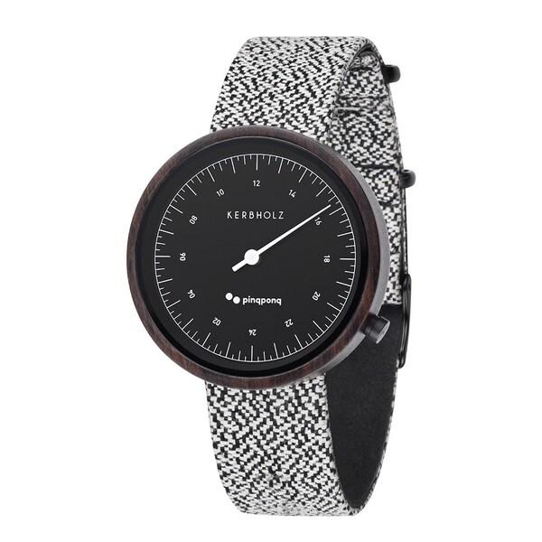 Uhren für Frauen - Kerbholz Armbanduhr 'KASSIO' schwarz weiß  - Onlineshop ABOUT YOU