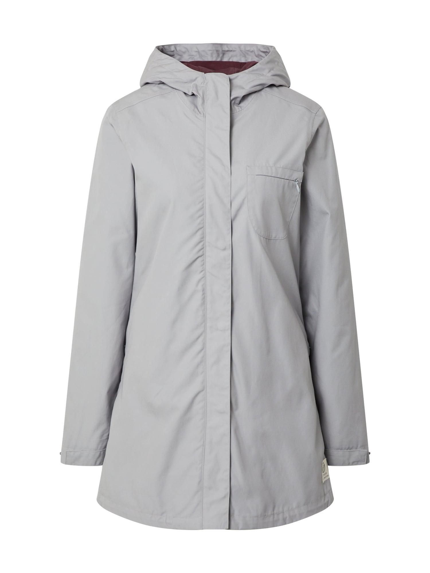bleed clothing Žieminis paltas 'Plantbased Coat Ladies Grey' pilka