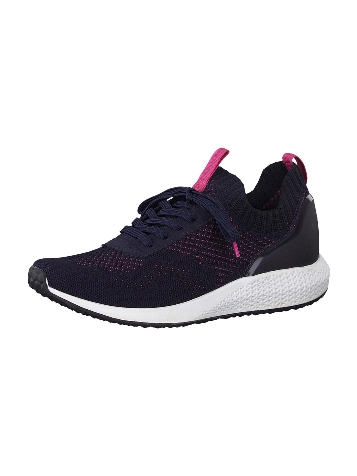 Tamaris Fashletics Sneaker tamsiai mėlyna / rožinė