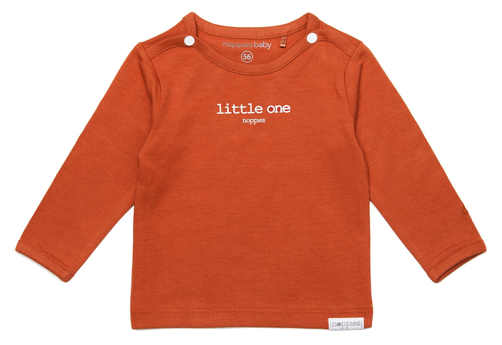 Noppies Marškinėliai 'Hester' tamsiai oranžinė