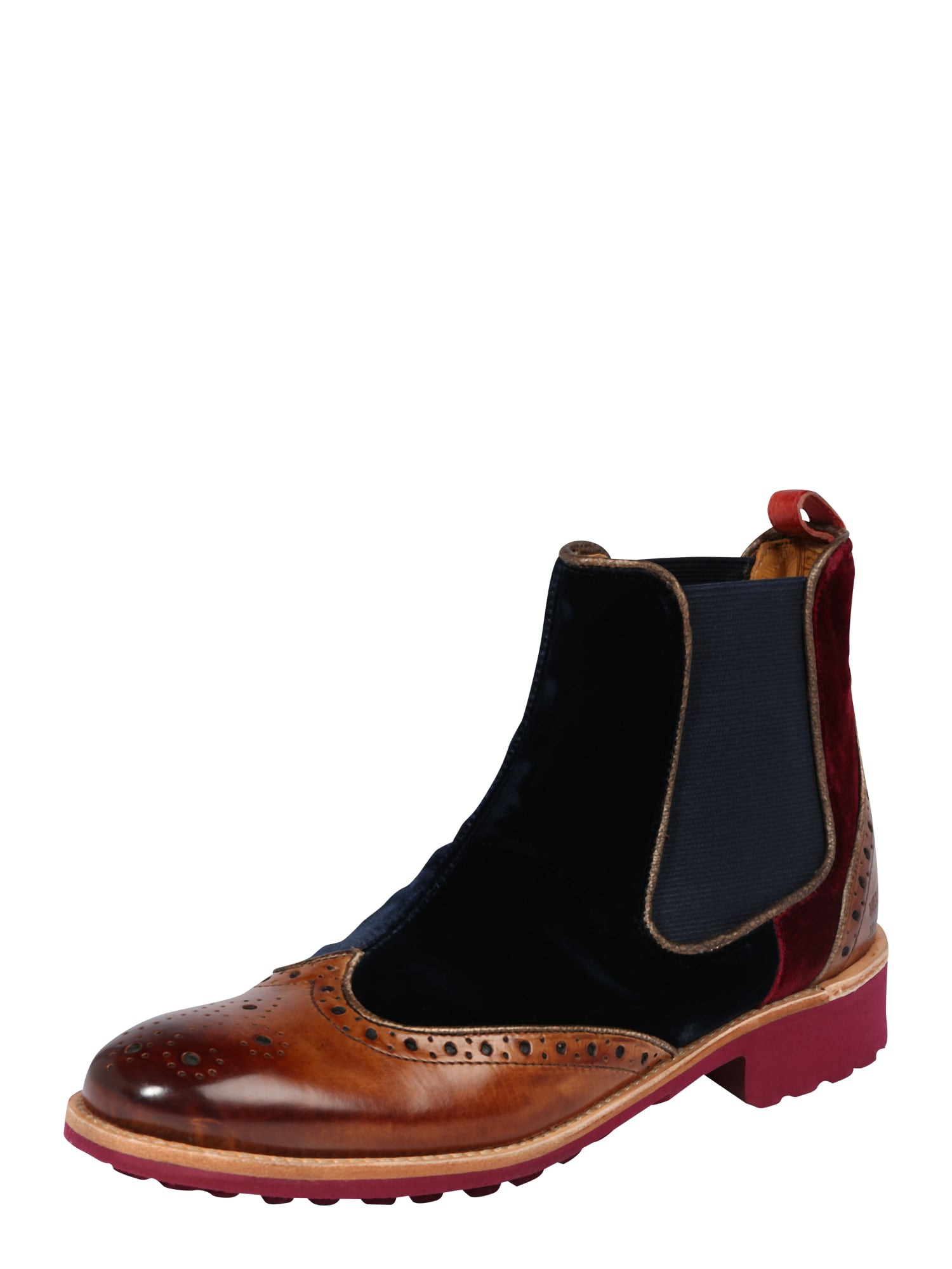 Chelsea boty Amelie 43 hnědá černá MELVIN & HAMILTON