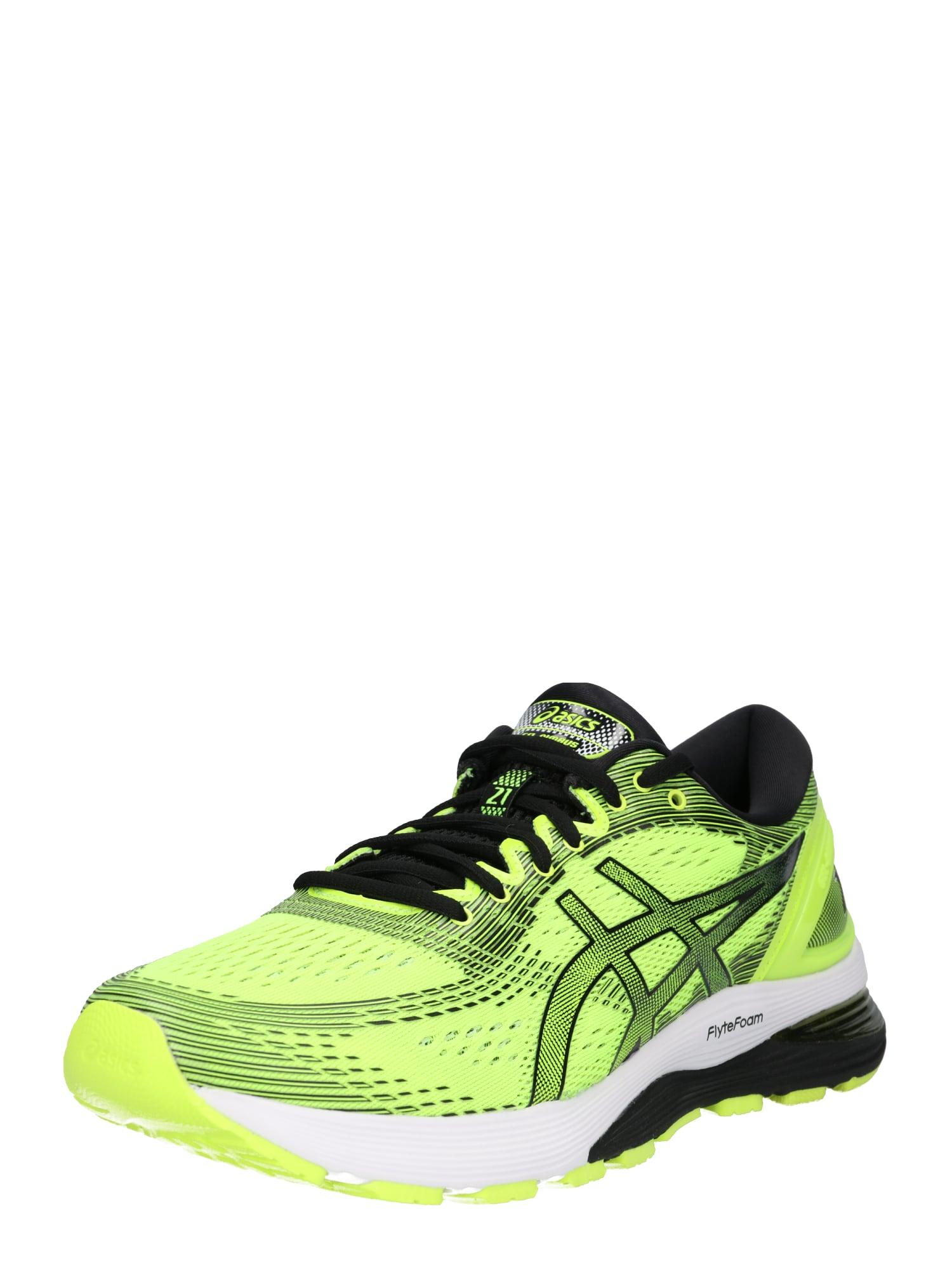 Běžecká obuv Gel-Nimbus 21 žlutá černá bílá ASICS