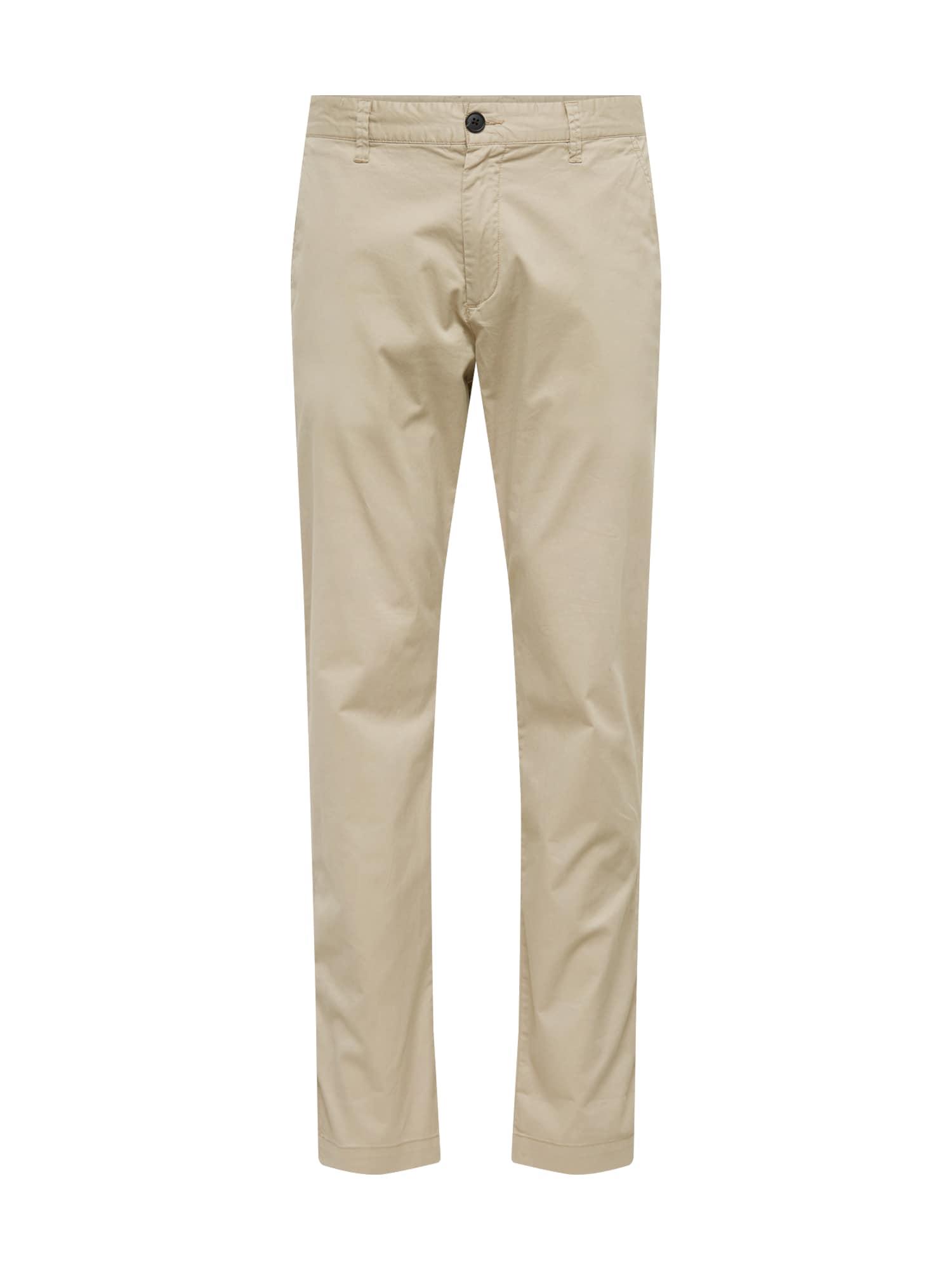 Chino kalhoty LUKE béžová SELECTED HOMME