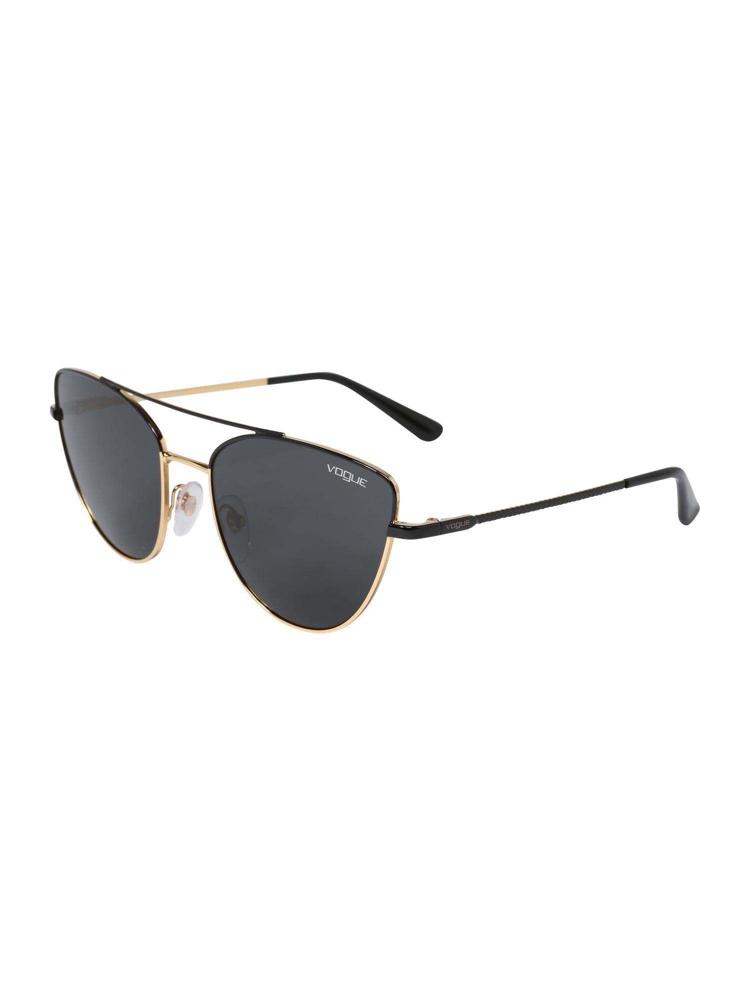 Sluneční brýle zlatá černá VOGUE Eyewear