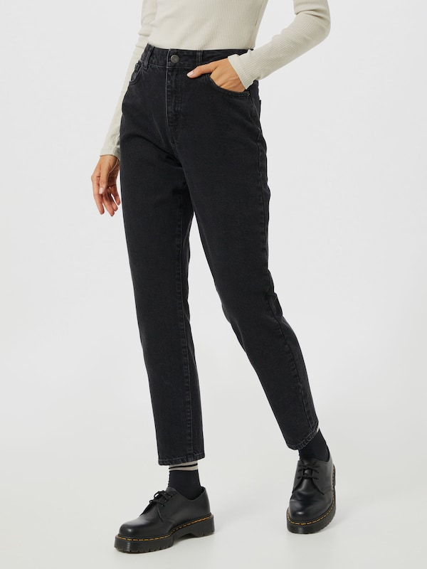 Noisy May Isabel knöchellange Mom-Jeans mit hoher Taille