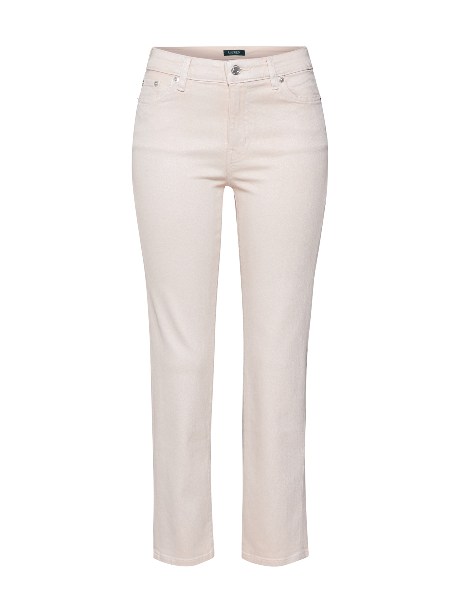 Lauren Ralph Lauren Džinsai odos / rožinė / perlų balta