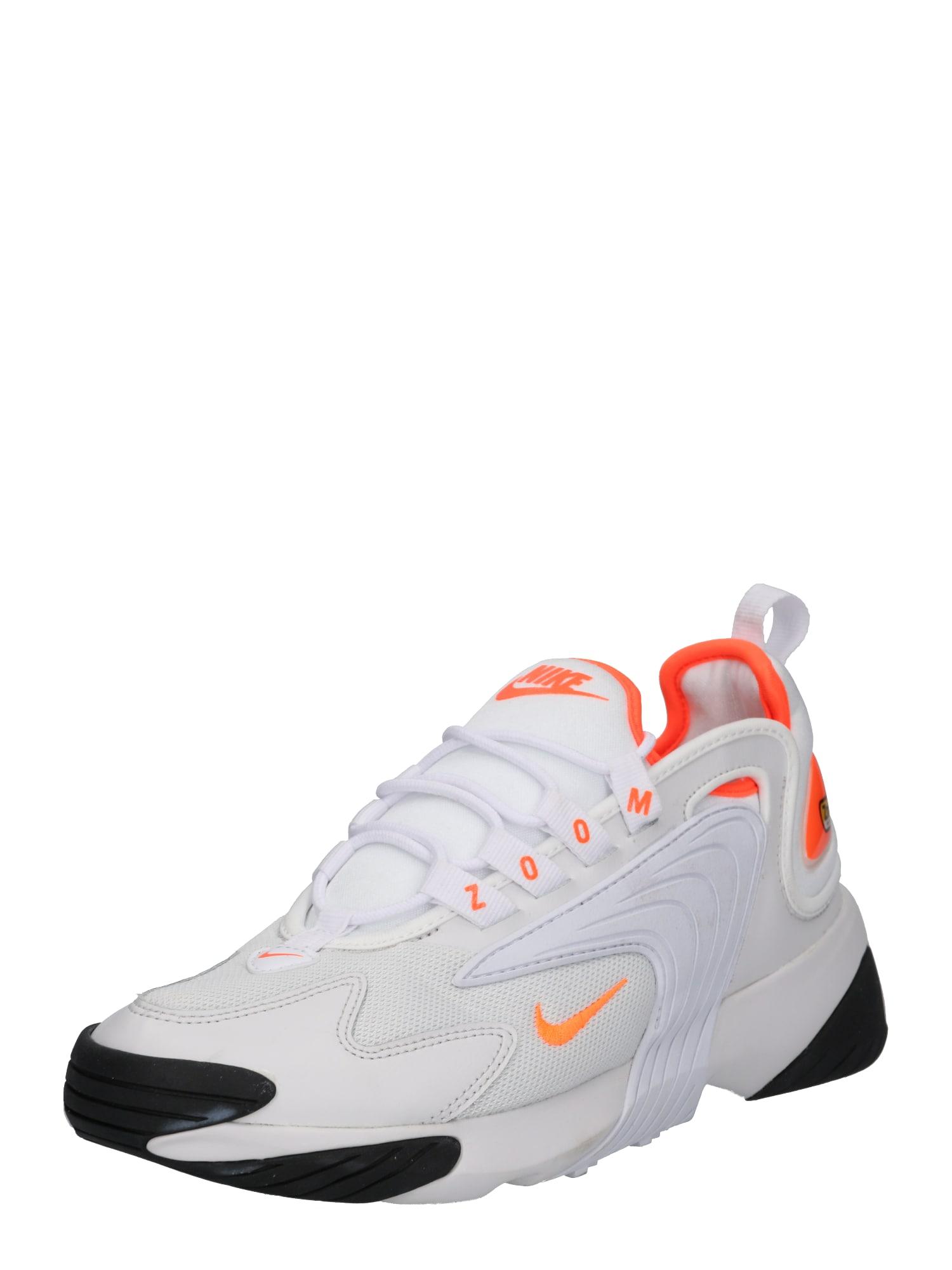 Nike Sportswear Sportbačiai be auliuko 'Nike Zoom 2K' pilka / oranžinė