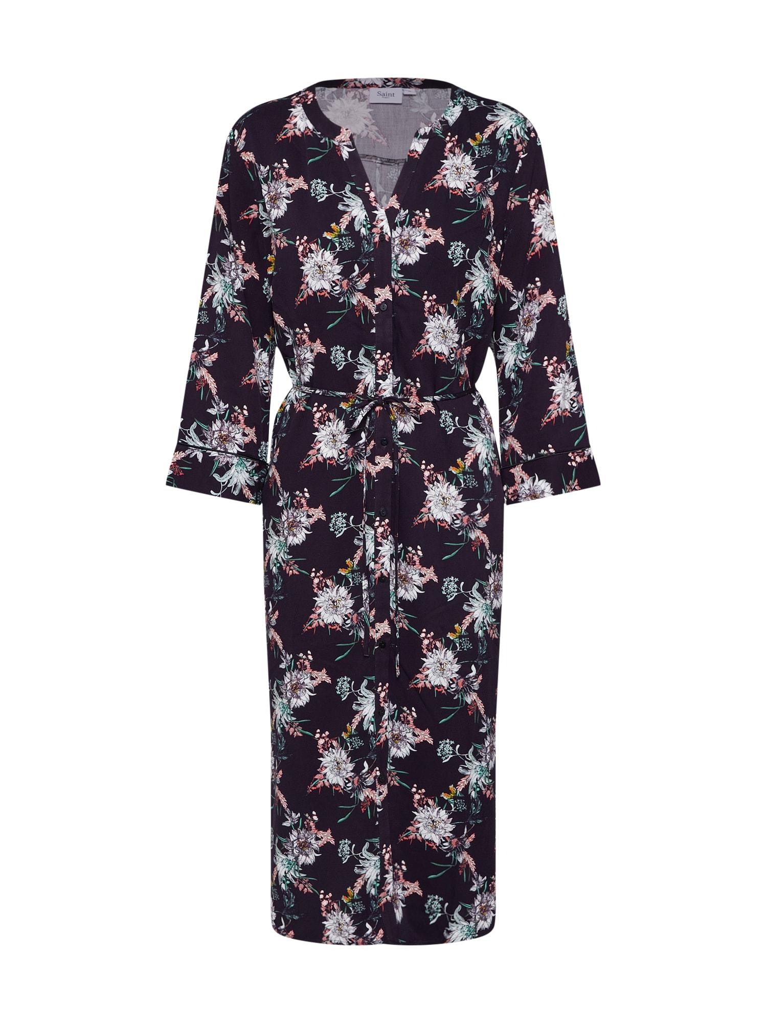 Šaty mix barev černá SAINT TROPEZ